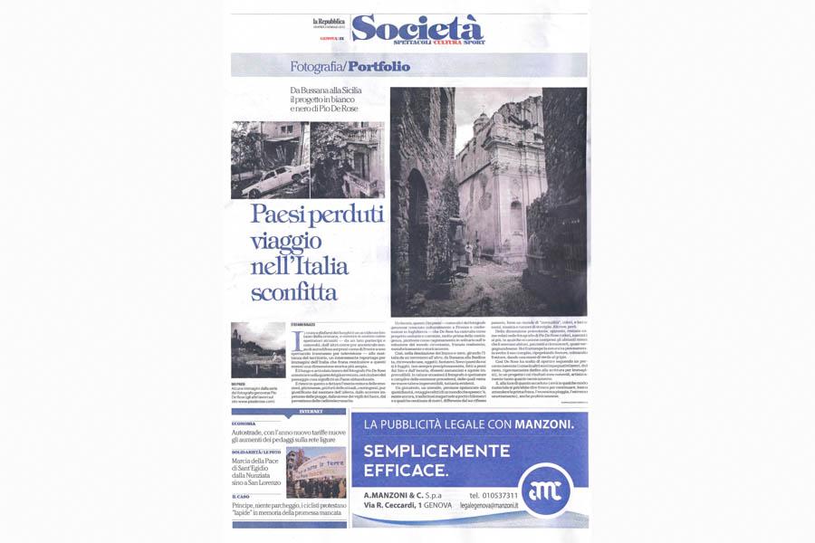 0027 La Repubblica Genova - 2 JAN 2015, pIX